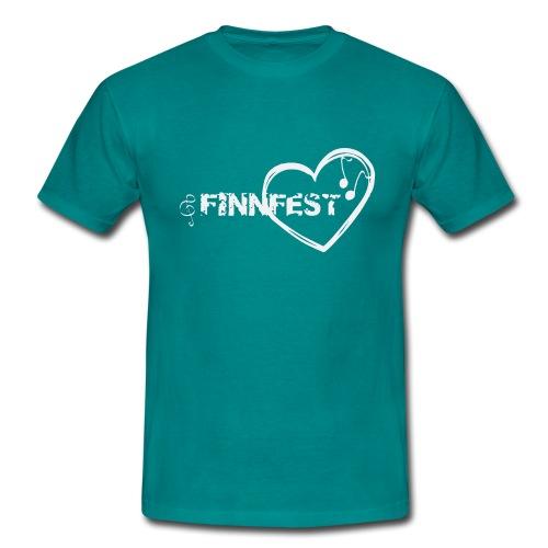 Finnfest white - Miesten t-paita
