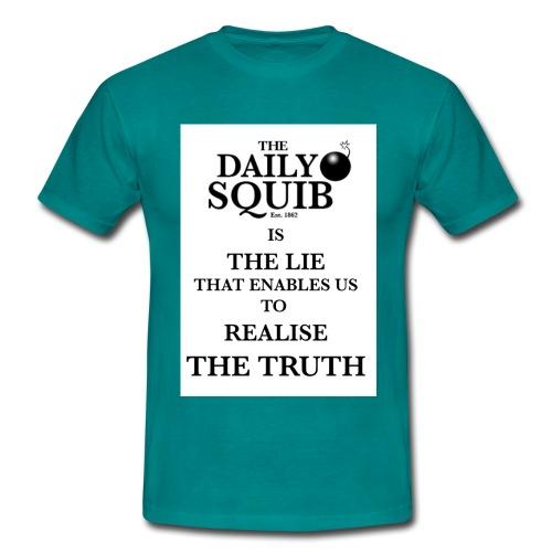 dialysquiblietruthtshirtb - Men's T-Shirt