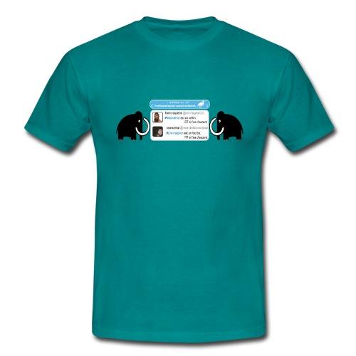 homo-sapiens et néandertal - T-shirt Homme
