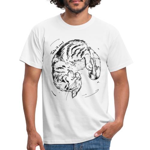 Take it cool BLACK - Men's T-Shirt