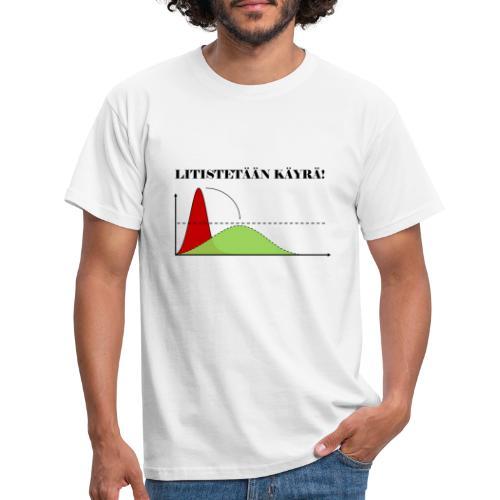 Flatten the curve - Men's T-Shirt