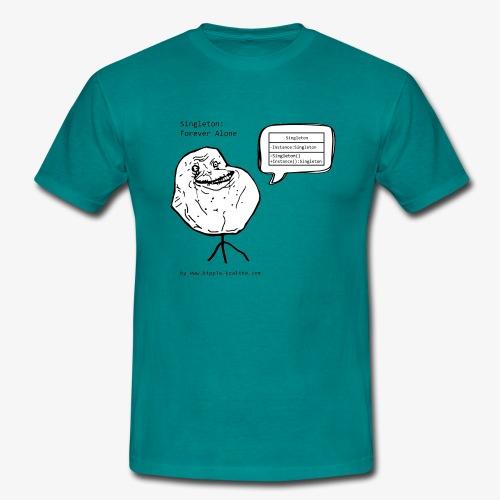 singleton black gif - Men's T-Shirt
