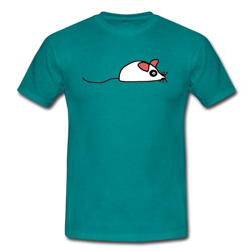 maus Ratte Mäuschen - Männer T-Shirt