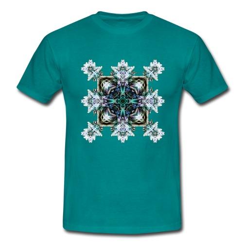 Psychedelic Flake - Männer T-Shirt