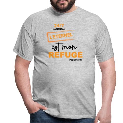 24/7 Éternel mon refuge - T-shirt Homme