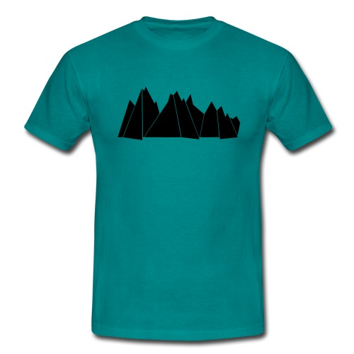 BlackMountains - Männer T-Shirt