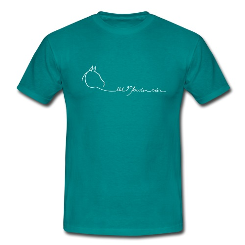 yingyang Logoschriftzug - Männer T-Shirt