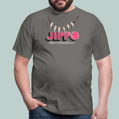 jippomestari_pink - Miesten t-paita