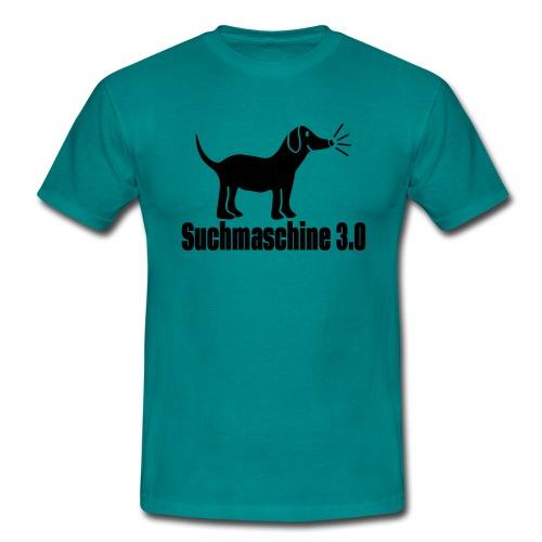 Hund Suchmaschine - Männer T-Shirt