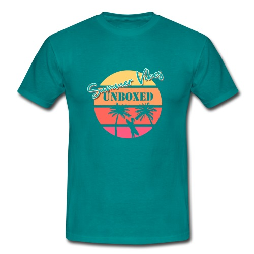 Summer Vibes UNBOXED - Männer T-Shirt