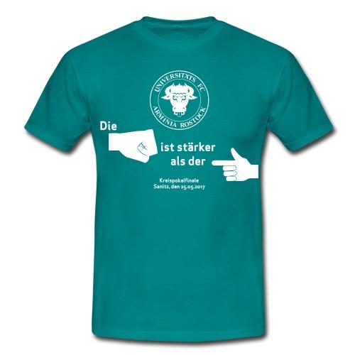 Pokalfinale 16 17 alles - Männer T-Shirt