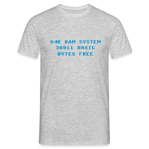 basic bytes free - Men's T-Shirt