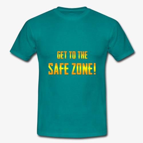 PUBG Get to the safe zone! - Männer T-Shirt