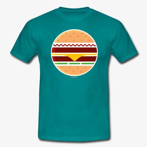 Circle Burger - Maglietta da uomo