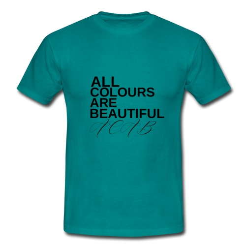 All Colours Are Beautiful ACAB - Männer T-Shirt