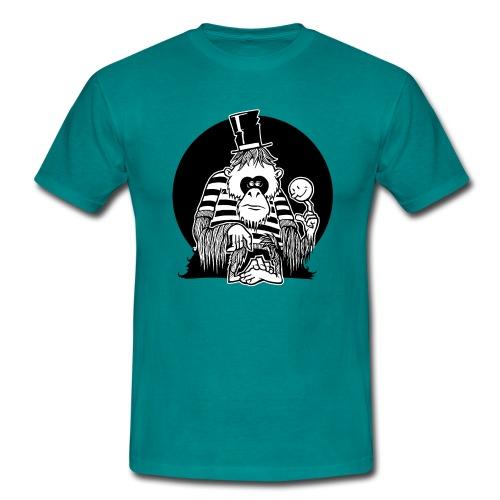 Depressiver Affe - Männer T-Shirt