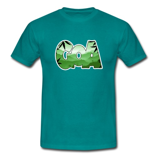 Goa logo 2 - Men's T-Shirt