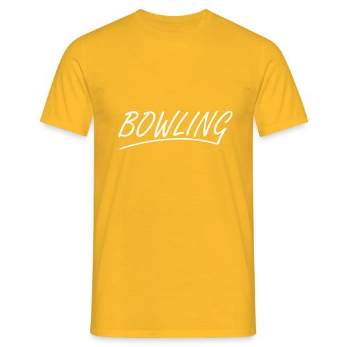 Bowling souligné - T-shirt Homme