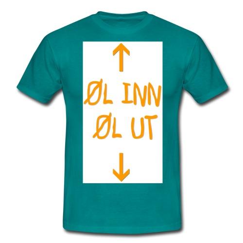 l inn l ut - T-skjorte for menn