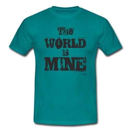 T-shirt THE WORLD IS MINE - Koszulka męska