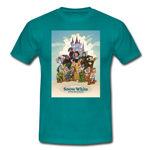 Snow White and the seven dwarfs - T-shirt Homme