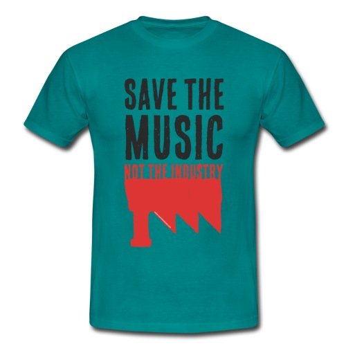 Save the Music - T-shirt Homme