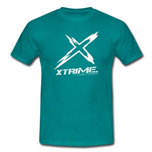 Spreadshirt XtriME Logo Whi png - Männer T-Shirt
