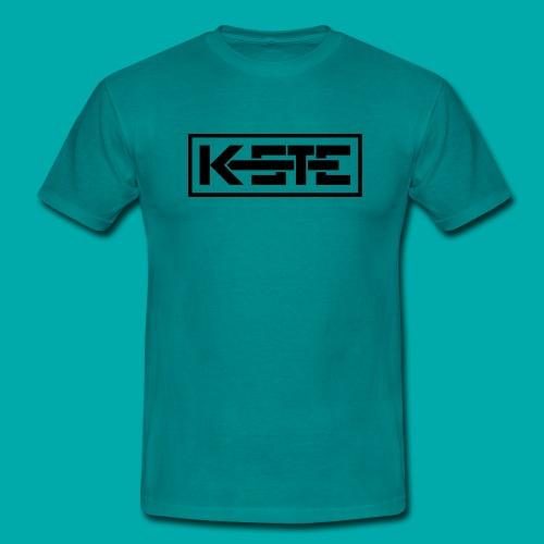 K-STE Logo schwarz - Männer T-Shirt