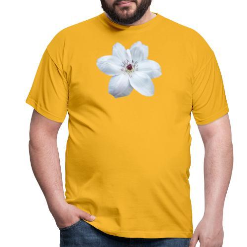 Jalokärhö, valkoinen - Miesten t-paita