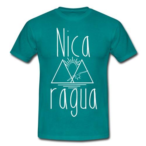 Nicaragua logo 1 - Camiseta hombre