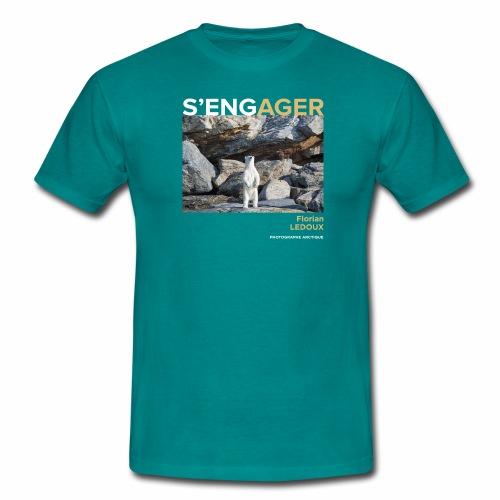 1 Achat = 1 Don à l'association Greenland Trees - T-shirt Homme