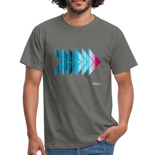 Warming stripes: Heißer ist nicht besser! - Männer T-Shirt