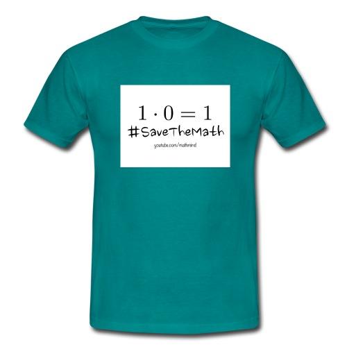 #SaveTheMath_1 - Maglietta da uomo