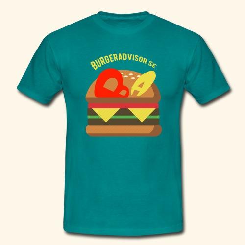 BA logolink200dpi - Men's T-Shirt