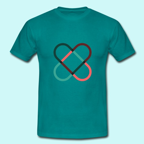 freehearts Logo - Männer T-Shirt