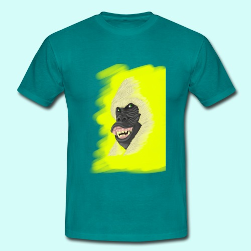 Gorille heureux - T-shirt Homme