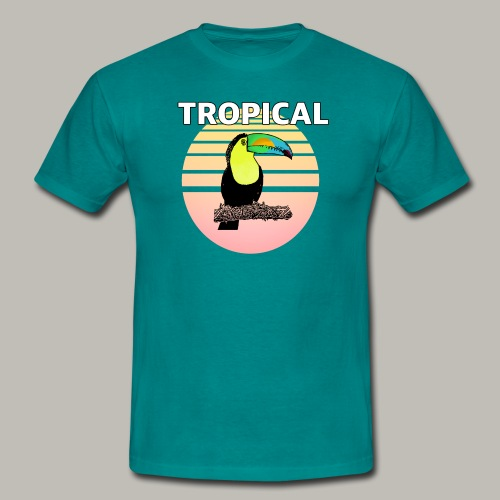 Toucan in the sun - T-shirt Homme