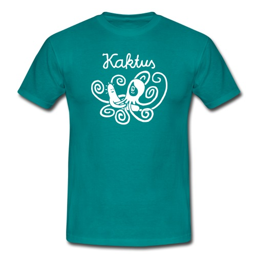 Kaktus und Kalamarie - Männer T-Shirt