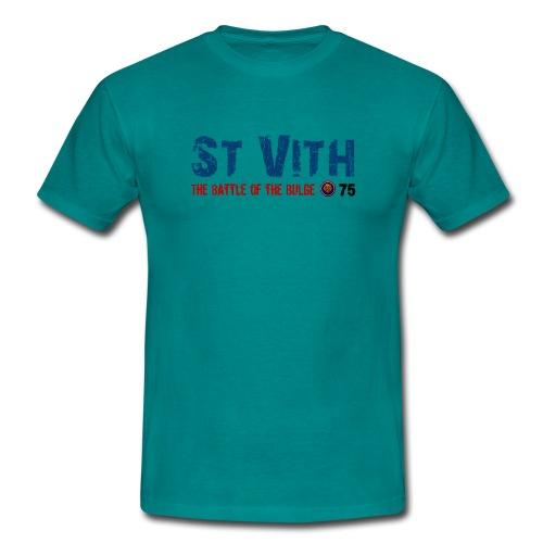 St Vith Bataille des Ardennes - T-shirt Homme