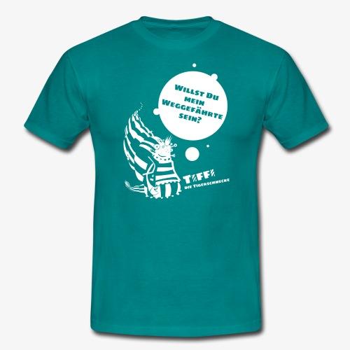TIFFI: Willst du mein Weggefährte sein? (weiß) - Männer T-Shirt