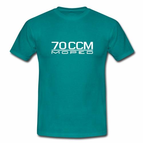 70 ccm Moped Emblem - Men's T-Shirt