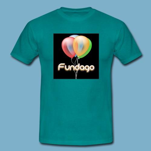 Fundago Ballon - Männer T-Shirt