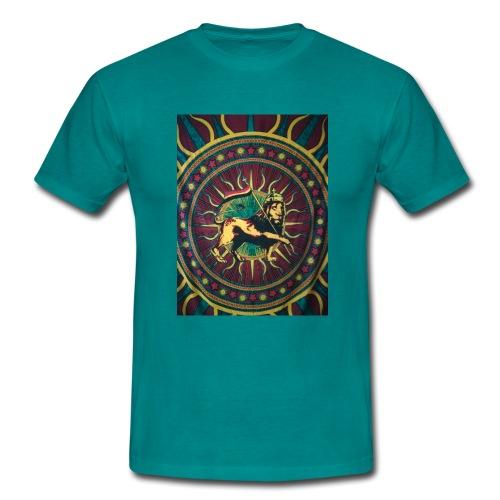 Rasta lion - Männer T-Shirt