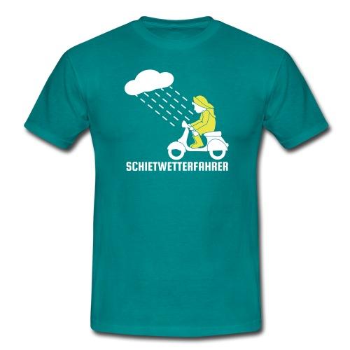 Schietwetterfahrer - Männer T-Shirt