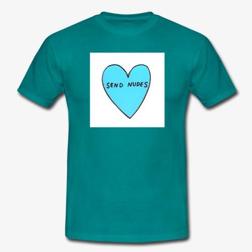 send nudes - Men's T-Shirt