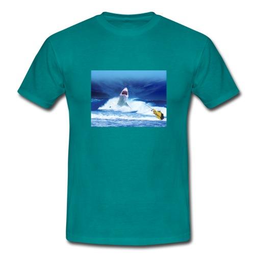 Logo SOM shark - T-shirt Homme