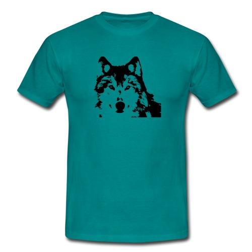 Wolf - Loup - Husky - Männer T-Shirt