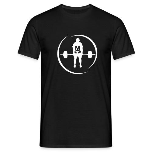 StrongMike White - T-shirt herr