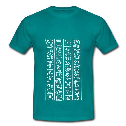 Hieroglyphen - Männer T-Shirt