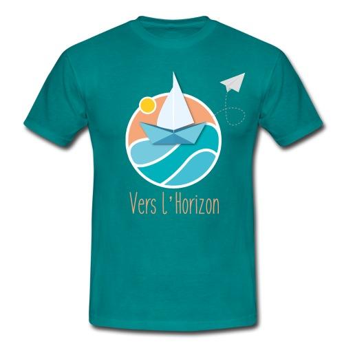 logo vers l'horizon - T-shirt Homme